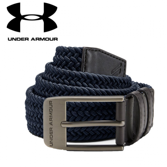 UNDER ARMOUR Men's Braided 2.0 Belt i gruppen Golfhandelen / Klær og sko / Golfklær herre / Sokker/Belter hos Golfhandelen Ltd (UNDER BELTE)