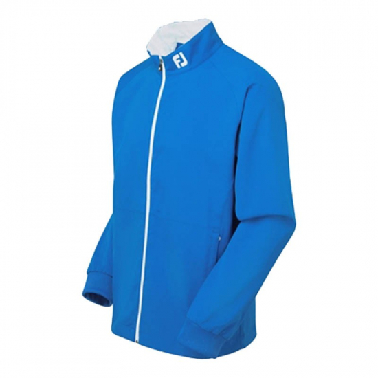 Footjoy Performance Wind Jacket full-zip - Nautical Blue/white i gruppen Golfhandelen / Klær og sko / Golfklær herre / Jakker/Vester hos Golfhandelen Ltd (fj perf wind jckt blue)