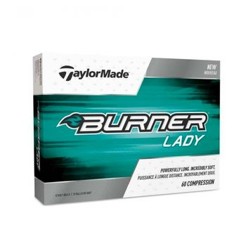 Taylormade Burner Soft Lady 2017 - 12 golfballer