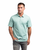 Travis Mathew Classy Heather Beryl Green - Polo